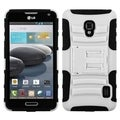 BasAcc Armor Stand Case for LG MS500 Optimus F6/ D500 Optimus F6