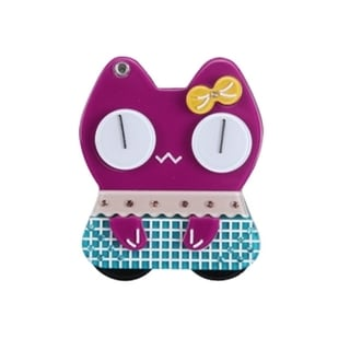 BasAcc Cartoon Cat Mirror