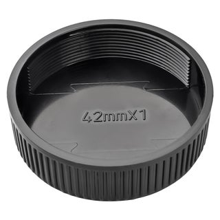 BasAcc 42-mm Black Camera Rear Lens Cover Cap
