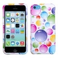 BasAcc Rainbow Bigger Bubbles Case for Apple iPhone 5C