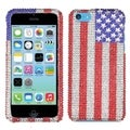 BasAcc US National Flag Diamante Case for Apple iPhone 5C