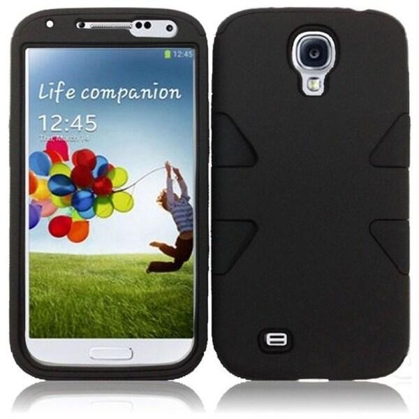 BasAcc Black/ Black Case for Samsung Galaxy S4 i9500