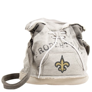 NFL New Orleans Saints Hoodie Shoulder Tote