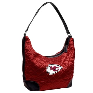 NFL Kansas City Chiefs Quilted Hobo Handbag