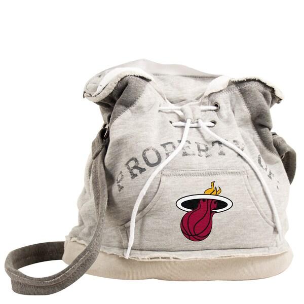 Little Earth NBA Miami Heat Hoodie Shoulder Tote