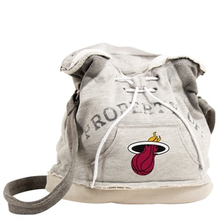 Little Earth NBA Miami Heat Hoodie Shoulder Tote