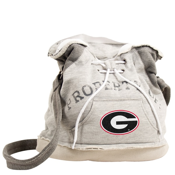 Little Earth NCAA Georgia Bulldogs Hoodie Shoulder Tote
