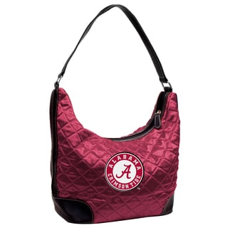 NCAA Alabama Crimson Tide Quilted Hobo Handbag