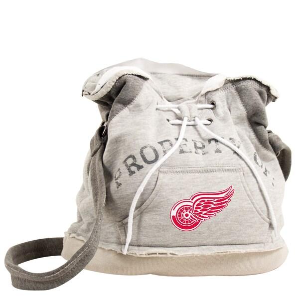 NHL Detroit Redwings Hoodie Shoulder Tote
