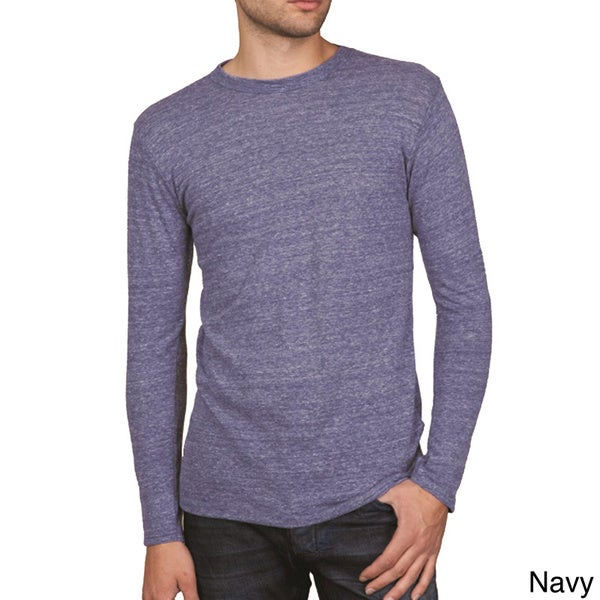 Alternative Apparel Men's Long Sleeve Eco-jersey T-shirt