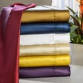 Elle & Alix Pure Mulberry 100-percent Silk Satin Sheet Set