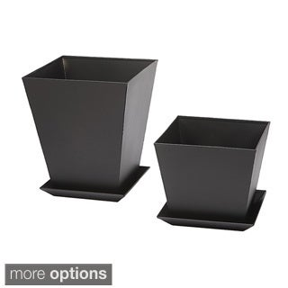 Phat Tommy Ultimate 2-piece Steel Planter Set