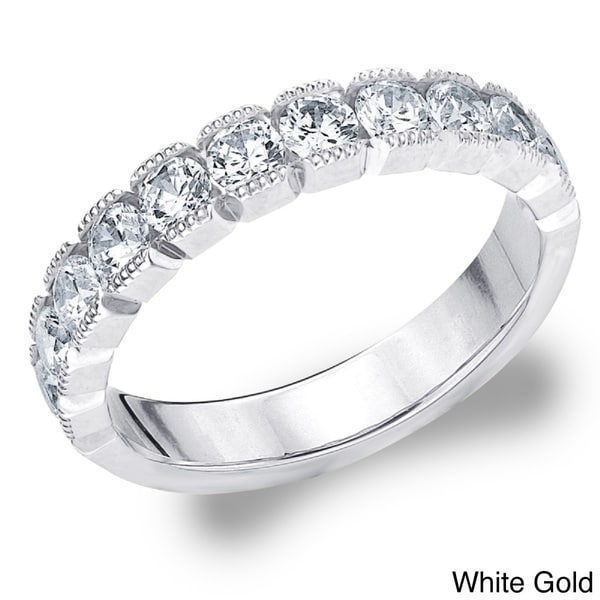 Amore 14k White or Yellow Gold 1ct TDW Diamond Wedding Band (H-I, I1-I2)