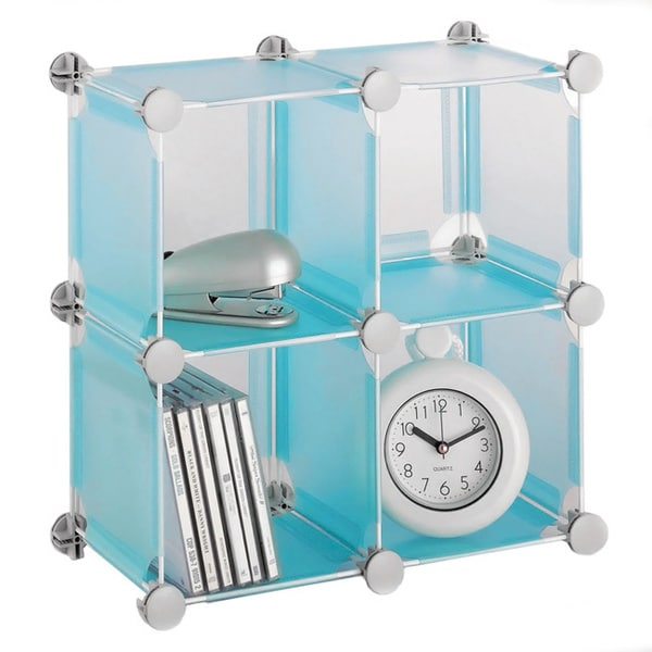 Organize It All Small Blue Cube