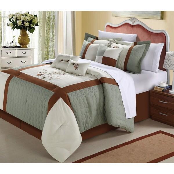York 12-piece Comforter Set