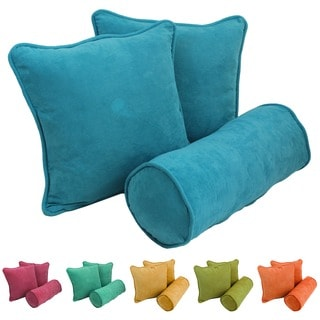 Microsuede Throw Pillows (Set of 3)