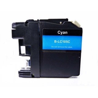 Compatible Brother LC105 Cyan Ink Cartridge