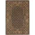 kathy ireland Home Villa Retreat Chocolate Area Rug (5'3 x 7'5)