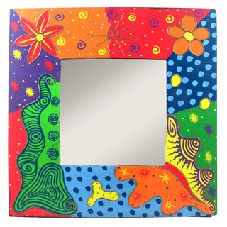 16-inch Crazy Square Mirror (Indonesia)