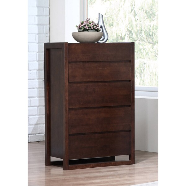 Sava Wenge 5-drawer Chest