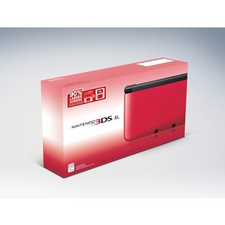 Nintendo 3DS XL System - Red/Black