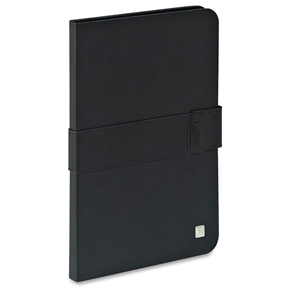 Verbatim Folio Signature Case for iPad mini (1,2,3) - Black/Black