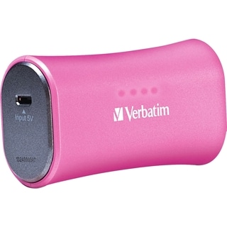 Verbatim Portable Power Pack (2200mAh) - Pink