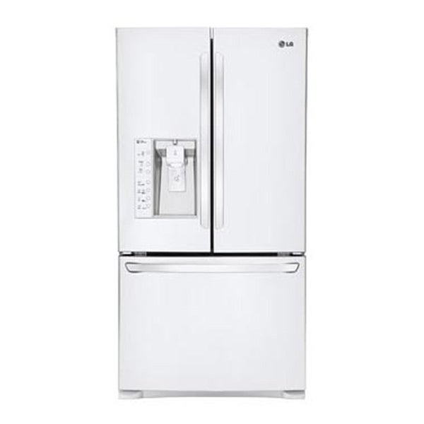 LG LFX31925SW Smooth White Super-Capacity French Door Refrigerator and Smart Cooling Technology