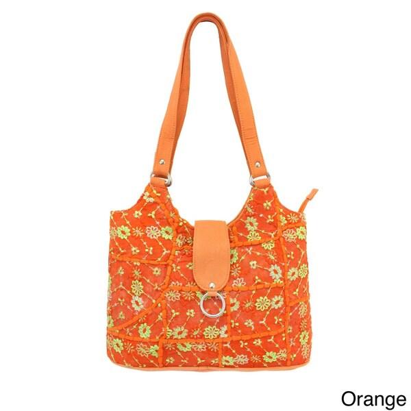 Khambadia Patchwork Tote Bag (India)