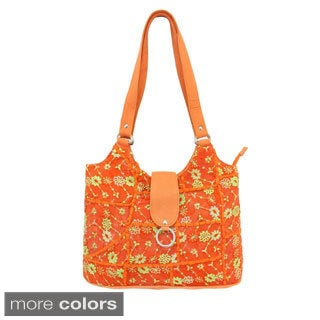 Khambadia Patchwork Tote Bag (India)