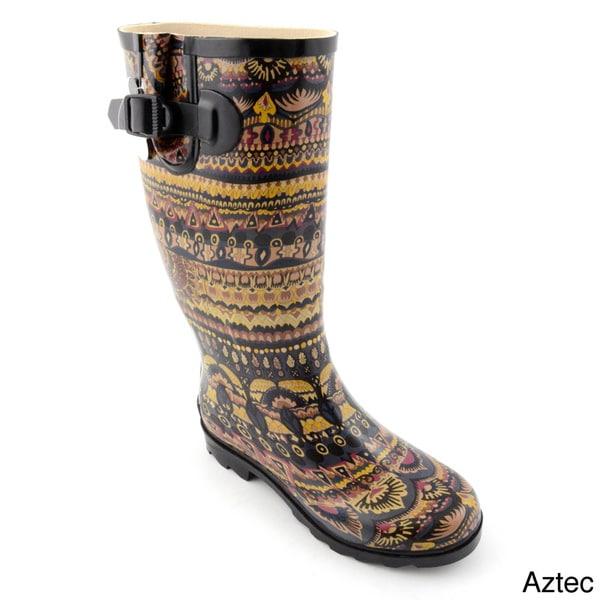 Corkys Women's 'Sunshine' Mid-calf Rain Boots