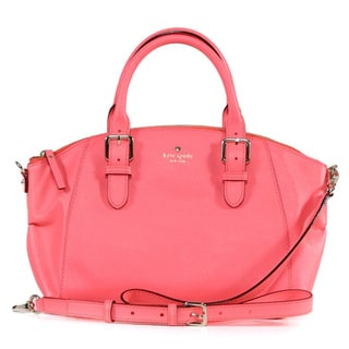 Kate Spade 'Charlotte Street' Small Coral Leather Sloan Tote