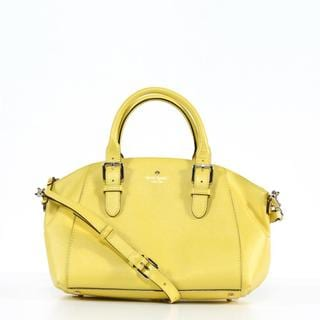 Kate Spade 'Charlotte Street' Small Limonium Leather Sloan Tote