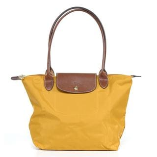 Longchamp 'Le Pliage' Medium Sunshine Tote