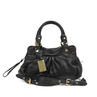 Marc by Marc Jacobs 'Baby Groovee' Black Leather Bag