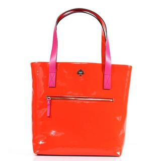 Kate Spade 'Flicker Zip Bon Shopper' Maraschino Patent Leather Bag