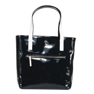 Kate Spade 'Flicker Zip Bon Shopper' Truenavy Patent Cowhide Bag