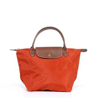 Longchamp 'Le Pliage' Small Paprika Handbag