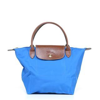 Longchamp 'Le Pliage' Small Ultramarine Handbag