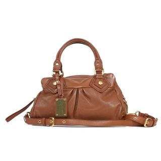 Marc by Marc Jacobs 'Baby Groovee' Cinnamon Stick Leather Satchel