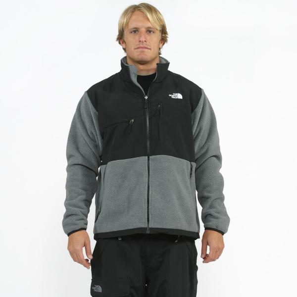 The North Face Men's 'Denali' Grey/ Black Jacket