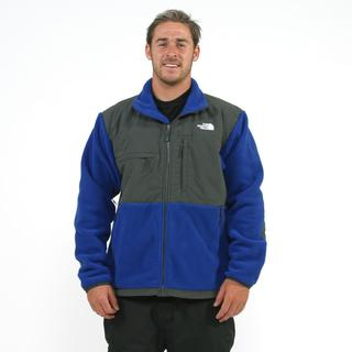 The North Face Men's 'Denali' Bolt Blue/ Grey Jacket
