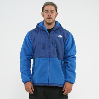 The North Face Men's 'Denali' Blue Hoodie Jacket