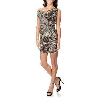 Halston Heritage Women's Printed Daytime Dress