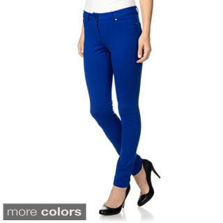 Olive & Oak Women's Stretch Ponte Pants