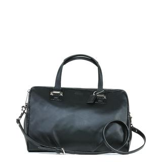 Coach 'Taylor' Black Leather Satchel