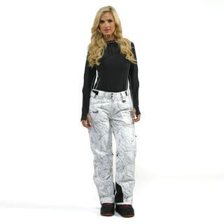 Marker Women's 'Inspiration' White Snowboard Pants