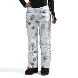 Marker Women's 'Morning Star' White Insulated Snowboard Pants