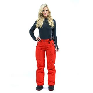 Marker Women's 'Farenheit' Firey Red Insulated Snowboard Pants