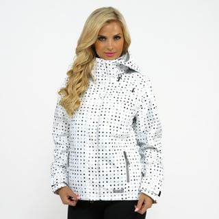 Marker Women's 'Crown Point' White Insulated Snowboard Jacket